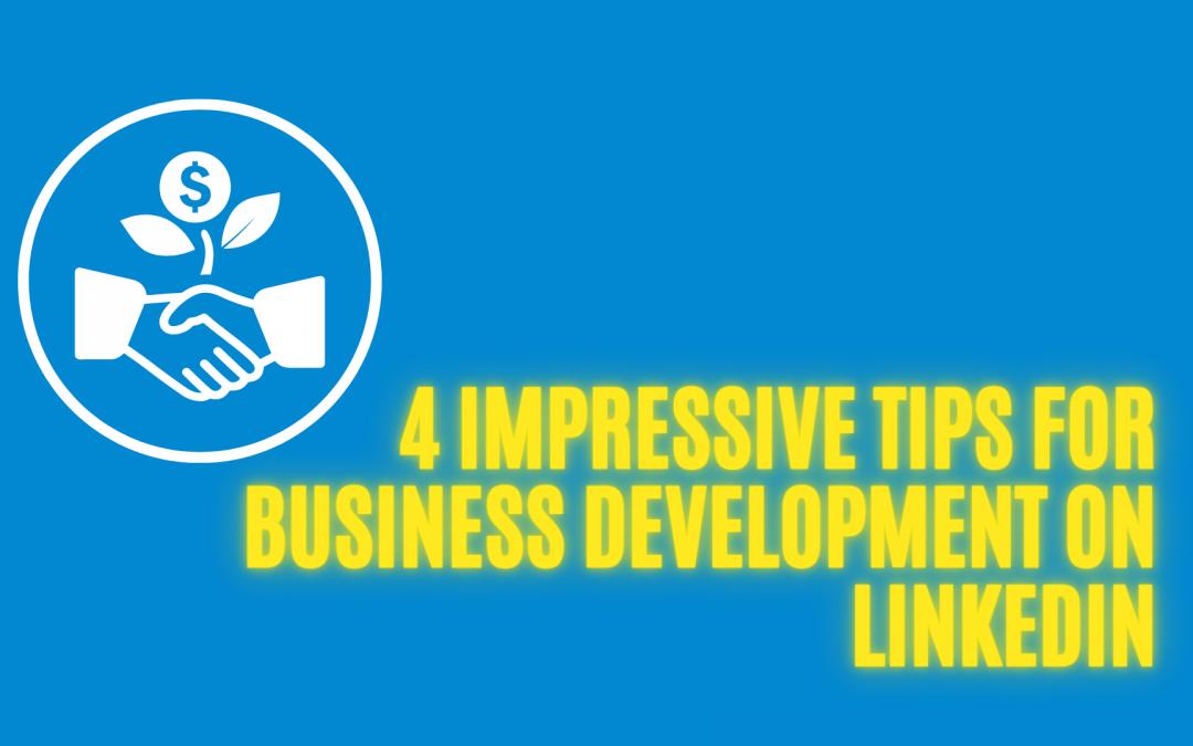 Business Development on LinkedIn